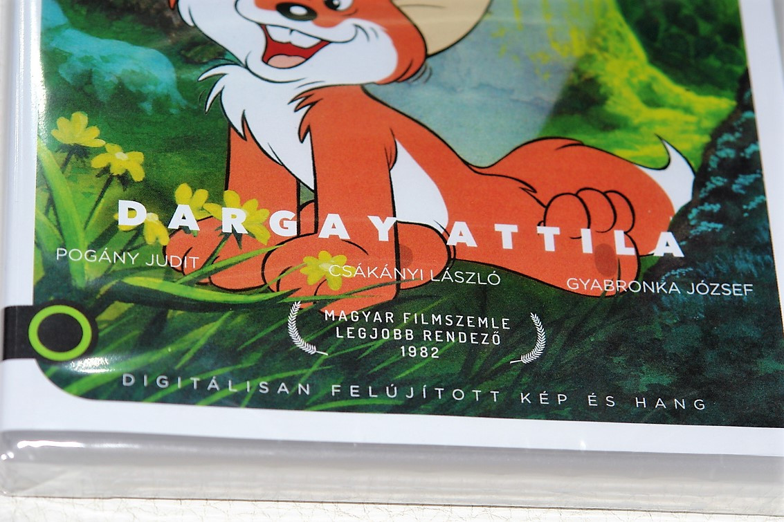 Vuk The Little Fox DVD based on the novel by István Fekete / Directed by  Attila Dargay and written by Attila Dargay, István Imre, Ede Tarbay, and