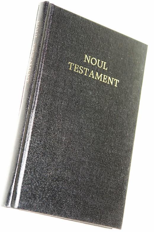Romanian New Testament with Psalms / Noul Testament Al Domnului Nostru Isus Hristos si Psalmii / Size 353 / Rumanian / Black Hardcover