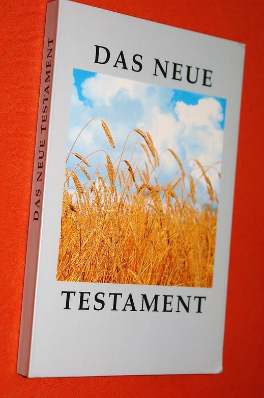German New Testament Fields Picture on Cover / Das Neue Testament: Uberarbeitete Fassung der Elberfelder Übersetzung (9783417254440)