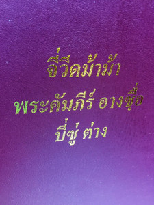 Bisu Language New Testament with Thai Script / Color Maps, and Color Pictures at the End  / 毕苏语 a Loloish language of Thailand, with a couple thousand speakers in China / Varieties are Bisu proper (Mbisu) and Laomian (Guba)