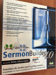Quickverse Sermon Builder 4.0 FINDEX CD-ROM / Great for Pastors