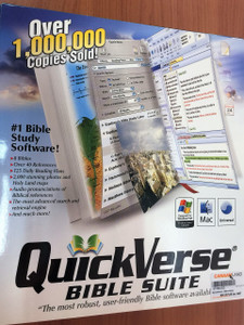 QuickVerse Bible Suite - #1 Bible Study Software / Easy / Powerful / Rewarding / KJV NKJV The Message Young's ASV