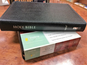TNIV Reference Bible (Bible TNIV) - Bonded Leather, Black / RARE OUT OF PRINT BIBLE