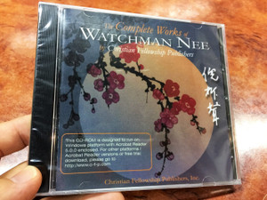 The Complete Works of Watchman Nee as Published by Christian Fellowship Publishers Multimedia CD-ROM / 55 Books