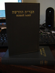 Hebrew - Rusian New Testament / Hevrejszki Ruski Novi Zavet [Hardcover]