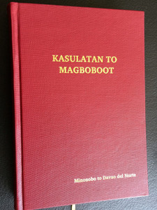 The New Testament in Ata Manobo Language as spoken in Davao del Norte / KASULATAN TO MAGBOBOOT / Colour Maps, Red Cover / The Language of the Philippines