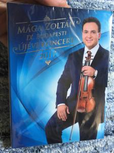 Maga Zoltan IX. Budapes Ujevi Koncert 2017 DVD / Budapest New Years Concert 2017 DVD /  IX. BUDAPESTI ÚJÉVI KONCERT 2017