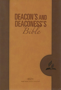 Deacon and Deaconess' Bible (NKJV)-Tan / Bible for Deacons and Deaconess's / English