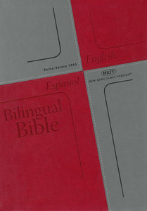 Bilingual Bible (Spanish Reina-Valera 1995 and English NKJV) / Red Cover / English and Spanish