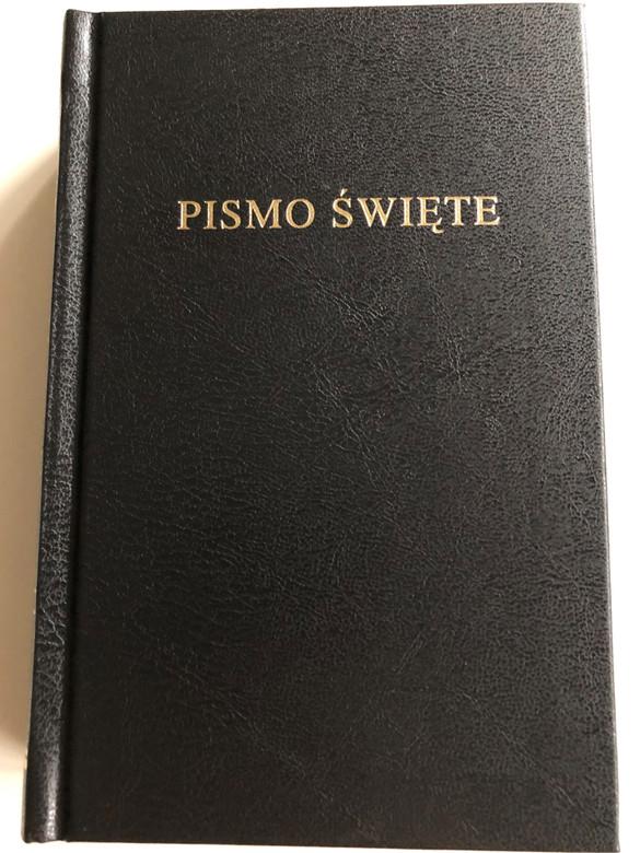 Polish Bible M043 Black Hardcover / Pismo Święte / Oprawa Twarda / Biblia, to jest Pismo Święte Starego i Nowego Testamentu (9788385260165)