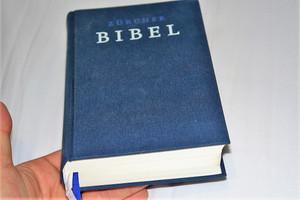German Bible / Zürcher Bibel – Leinen dunkelblau: (ohne Einleitungen und Glossar) / Huldrych Zwingli
