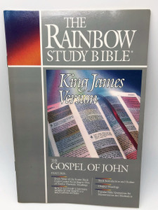 Rainbow Study Bible: Gospel of John Paperback – December, 1994