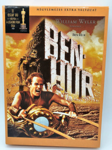 Ben-Hur 1959 Hungarian Limited 4DVD Collector's Edition / Director: William Wyler / Charlton Heston; Jack Hawkins; Haya Harareet; Stephen Boyd; Hugh Griffith; Martha Scott; Cathy O'Donnell; Sam Jaffe