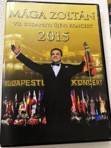 Mága Zoltán VII. Budapesti Újévi Koncert 2015 DVD / New Years Gala Concert Hungary
