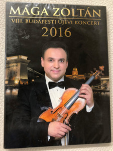 Mága Zoltán VIII. Budapesti Újévi Koncert 2016 DVD / New Years Gala Concert Hungary
