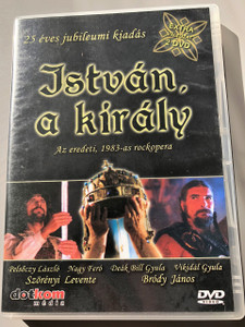 Istvan, A Kiraly - Stephen, the King / 4 ACTS / 25 Year Anniversary Collector's Edition 2 DVD / The Original 1983 Rockopera / Extra Footages: Interviews, Stephen the King in Sevilla / Digital Sound