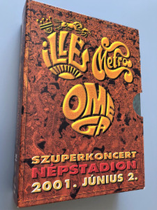 Illés, Metro, Omega Szuperkoncert  Népstadion 2001.Június.2 (3 DVD Collectors Edition) Hungaroton Records / Live Concert