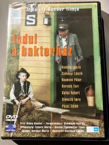 Indul a bakterház 1979 (Hungarian DVD) Mihályfi Sándor / Bánhidy László; Csákányi László; Haumann Péter; Horváth Teri; Koltai Róbert; Olvasztó Imre; Pécsi Ildikó / Mokép