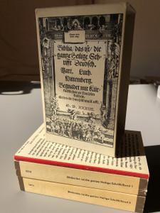 Martin Luther German Bible 1543 REPRINT / Faksimile-Ausgabe der ersten vollstandigen Lutherbible von 1534 in zwei Banden