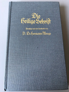German New Testament with Apocrypha / Die Apokryphen  Die Heilige Schrift / Mengebibel Teilband 2 / D.Dr.Hermann Menge Translation 1977 Berlin