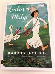 Lúdas Matyi DVD (1977) / Mattie The Gooseboy / with ENGLISH SUBTITLE / Director: Dargay Attila / Hungarian Cartoon / Magyar mesefilm Magyarorszag / Író: Fazekas Mihály