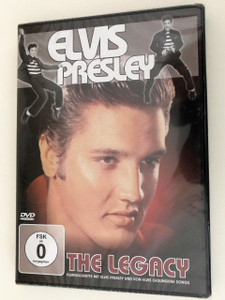 Elvis Presley The Legacy DVD Limited Collector's Edition / Digitally Remastered by MTV Studios Frankfurt