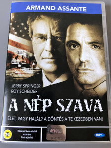 Citizen Verdict 2003 / A nép szava  DVD / Actors: Armand Assante, Jerry Springer, Roy Schneider / Director: Philippe Martinez