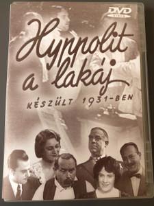 Hyppolit, a lakáj DVD 1931 / Director: Székely István / Actors: Gyula Csortos, Gyula Kabos, Mici Haraszti / Hungarian Cinema / Magyar Film
