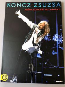 Koncz Zsuzsa - Aréna koncert 2017. március 11. on DVD / Zsuzsa Koncz is a Hungarian pop singer / Hungaroton Magyarorszag