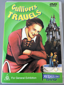 Gulliver's Travels (1939 film) - DVD - FLEISCHER STUDIOS - AVENUE ONE / Australian PAL Region Free Edition / Director: Dave Fleischer / An animated feature based on Jonathan Swift's 18th century immortal tale