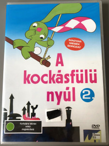 A kockásfülű nyúl 2. DVD 13 Episodes / The rabbit with checkered ears / Created by Veronika Marék and animator Zsolt Richly / Magyar Televízió / Richly Zsolt / Neosz Kft. / Magyar mesék sorozat