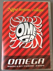 Napot hoztam, csillagot (DVD) Koncertturné 2004 Omega együttes / Benkő László, Debreczeni Ferenc, Kóbor János, Mihály Tamás, Molnár György