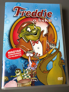 Freddie a beka / Freddie the Frog DVD / Freddie as F.R.O.7 / ENGLISH and Hungarian Audio / Hungarian Subtitles / Director: Jon Acevski / Ben Kingsley