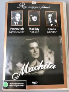 Machita magyar játékfilm 1943 / 107 perc / In 1944 this movie was BANNED in Hungary / Director: Rodriguez Endre / Actors: Szereplők: Karády Katalin, Petrovich Szvetiszláv, Bihari József, Baló Elemér, Szabó Sándor (5999882685212)