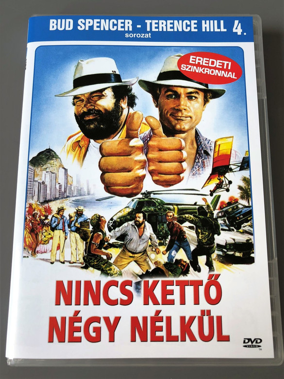 Nincs kettő négy nélkül 1984 Double Trouble / Region 2 PAL DVD / Has English and Hungarian Sound options / Bud Spencer, Terence Hill / Directed by E.B. Clucher, Enzo Barboni (5999544560741)