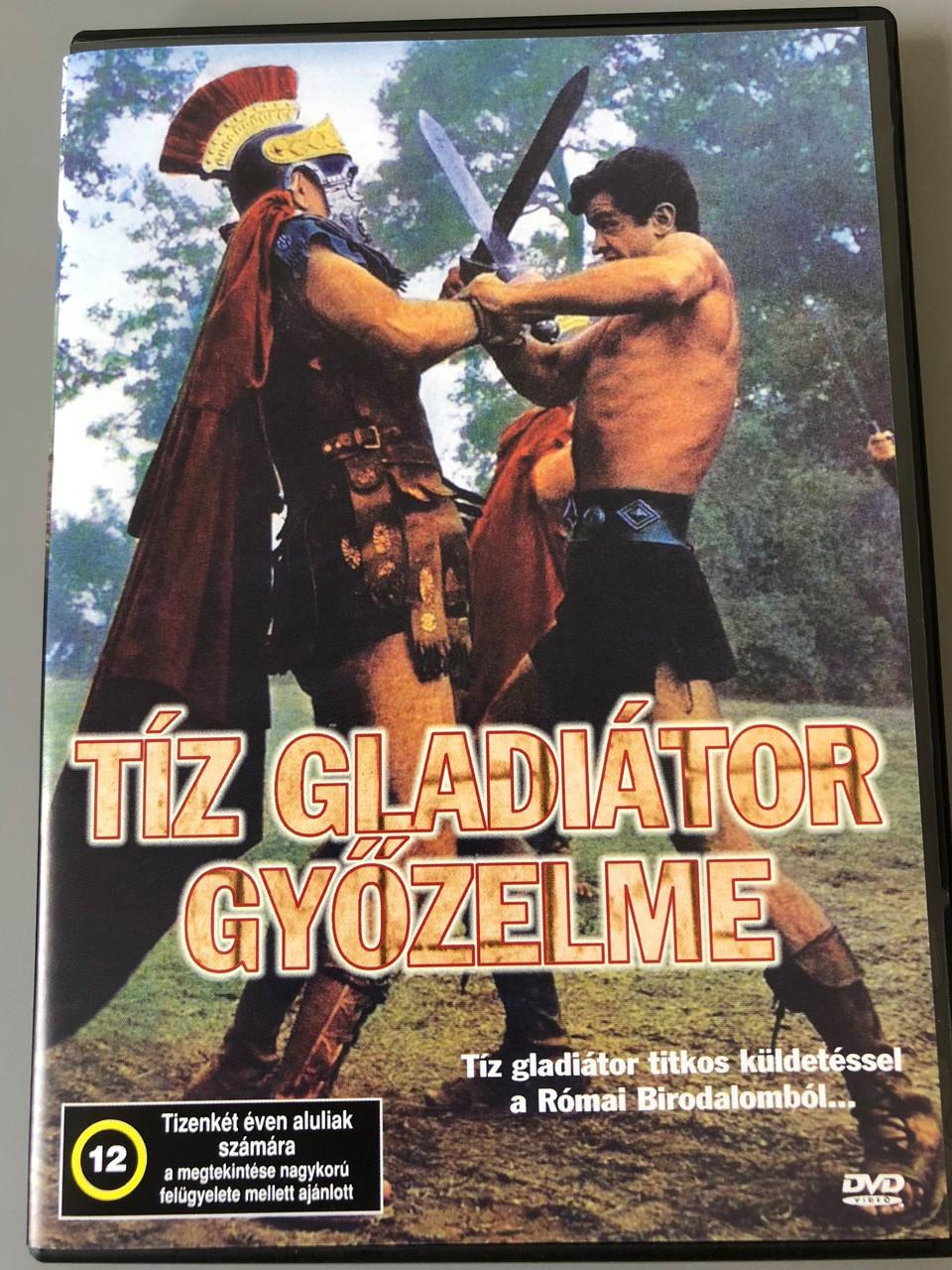 Triumph Of The Ten Gladiators T 237 Z Gladi 225 Tor Győzelme Dvd