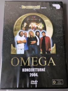 Omega - Koncertturné 2004. / Omega együttes / Benkő László, Debreczeni Ferenc, Kóbor János, Mihály Tamás, Molnár György / Rockinform Special / Region 2 PAL DVD Hungarian Concert