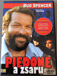 Piedone a Zsaru / Piedone lo sbirro 1973 DVD / Director: Steno / Bud Spencer, Enzo Cannavale / Audio: Italain, Hungarian / Subtitle: Hungarian / Magyar Hangja: Bujtor Istvan (5999545561082)