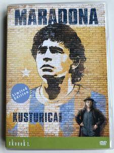 Maradona DVD 2008 / Directed by Emir Kusturica / Documentary on the life of Argentine footballer Diego Maradona with Audio options: English, Hungarian (5999883707111)