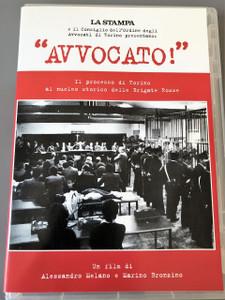 """""""Avvocato!"""" DVD / La Stampa e il Consiglio dell'Ordine degli Avvocati di Torino presentano: """"Avvocato!"""" / Un Film di Alessandro Melano e Marino Bronzino / Italian Historical Documentary Film"""