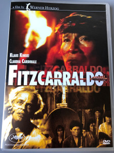 Fitzcarraldo (DVD) 1982 / Written and directed by Werner Herzog / Starring Klaus Kinski; Claudia Cardinale; José Lewgoy; Miguel Angel Fuentes; Paul Hittscher / AUDIO:  German, Hungarian