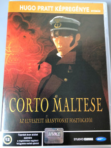 Corto Maltese in Siberia 2002 (Corto Maltese: La cour secrète des Arcanes) [ NON-USA FORMAT, PAL, Reg.2 Import - Hungary] | Original French 2.0 Audio Track | Optional Hungarian Audio and Subtitle | NO ENGLISH OPTIONS!!!