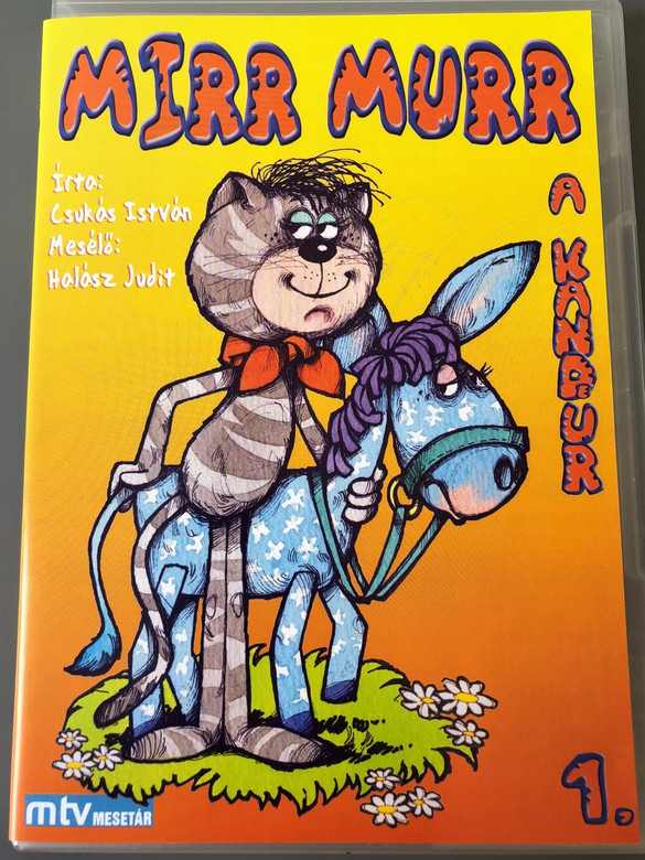 Mirr Murr a Kandúr 1. évad 1972 (DVD) / Műfaj: bábjáték, mese / Író: Csukás István / Rendező: Foky Ottó / Narrátor: Halász Judit / Zeneszerző: Pethő Zsolt / Magyarország (5998329508299)