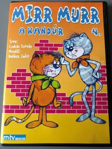 Mirr Murr a Kandúr 4. évad 1975 (DVD) / Műfaj: bábjáték, mese / Író: Csukás István / Rendező: Foky Ottó / Narrátor: Halász Judit / Zeneszerző: Pethő Zsolt / Magyarország (5999883047002)