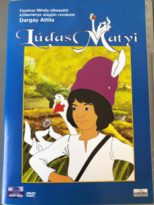 Lúdas Matyi DVD (1977) / Mattie The Gooseboy / with ENGLISH and HUNGARIAN Audio options / Director: Dargay Attila / Hungarian Cartoon / Magyar mesefilm Magyarorszag / Író: Fazekas Mihály / Playtime 75 minutes (5996357340782)