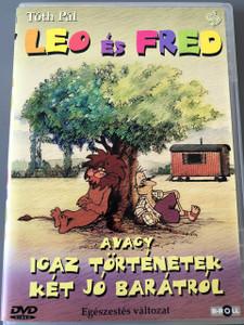 Leo és Fred DVD magyar televíziós rajzfilmsorozat / Director and Writer - Írta és rendezte: Tóth Pál (1. évadban) 1983, Weisz Béla (2. évadban) 1993 / Hungarian Popular TV Cartoon / Magyarorszag Gyerekeknek (5996051436569)