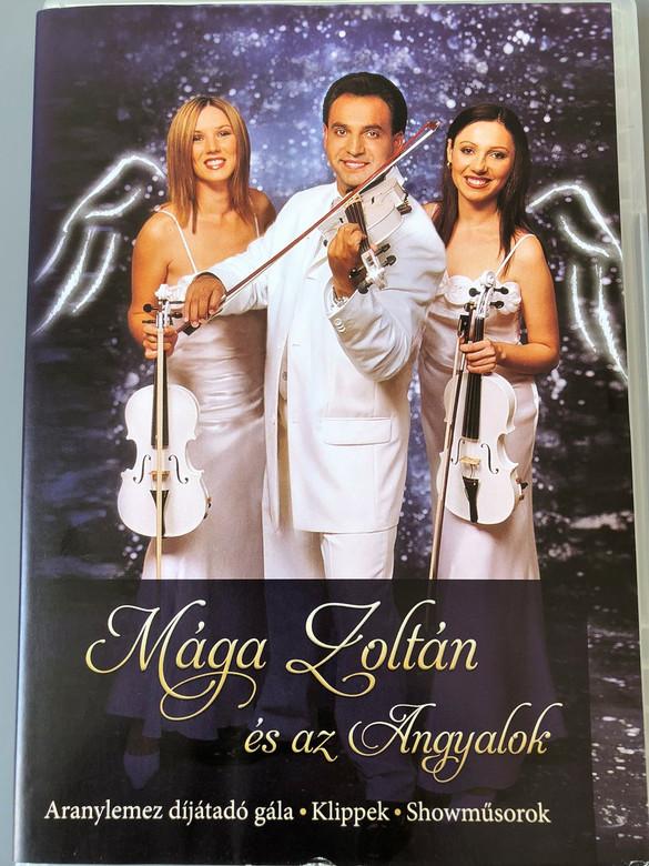 Mága Zoltán és az Angyalok (DVD) Aranylemez dijatado gala / Klippek / Showmusorkok / Televizios Megjelenesek / Kituntetesek / Eletut (5996255606379)
