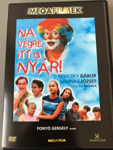 Na végre, itt a nyár! 2002 / Leopoldi nyár / magyar ifjúsági film / 97 perc (mozifilm) / Rendező Fonyó Gergely (5999544242227)