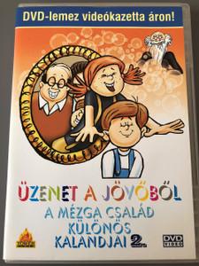 Üzenet a jövőből - A Mézga család különös kalandjai 2. - DVD 1970 / 4 Episodes / Classic Hungarian Cartoon / Nepp József, Romhányi József, Szemenyei András, Ternovszky Béla / Mézga Géza és Aladár / Pannónia Filmstúdió (5996051510061)