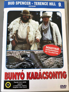 Bunyó karácsonyig DVD 1994 Botte di Natale / Troublemakers / The Night Before Christmas Bud Spencer - Terence Hill sorozat 9. Region 2 PAL DVD / Has English and Hungarian Sound options / Bud Spencer, Terence Hill / Directed by Terence Hill (5999544560710)